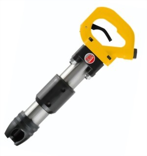 "4"" Heavy Duty Air Chipping Hammer With Hex.(Round) Shank"