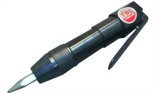 Heavy Duty Mini Air Flux Chipper With Point Chisel