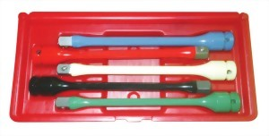 "5Pcs 1/2"" Torque Extension Bar Set(Cr-Mo)"