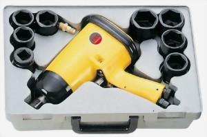 """15Pcs 3/4"""" Heavy Duty Air Impact Wrench Kit"""