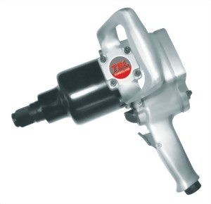 """1"""" Heavy Duty Pistol Type Twin Hammer Mechanism Impact Wrench With 2""""/6"""" Anvil"""