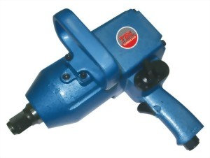 """1"""" Heavy Duty Pinless Hammer Mechanism Air Impact Wrench With 2""""/6"""" Anvil"""