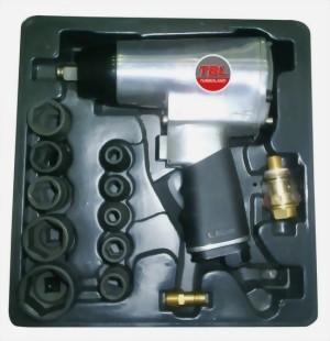 """17PCS 1/2"""" Heavy Duty Air Impact Wrench Kit"""