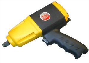 """1/2"""" Composite Industrial Twin Hammer Mechanism Impact Wrench"""