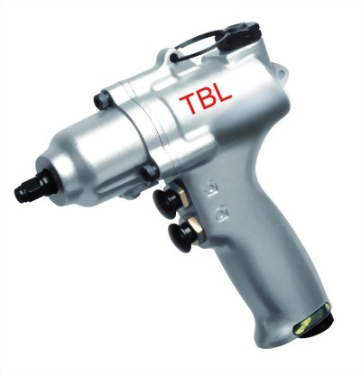 "3/8"" Super Duty Two Finger Operate & Double Air Inlet Two Hammer Mechanism Air Impact Wrench"