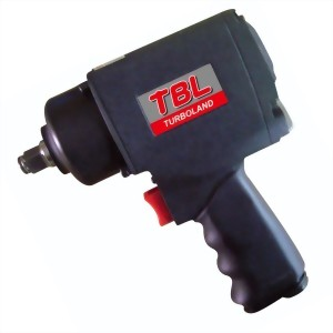"1/2"" Twin Hammer Mechanism Air Impact Wrench With Handle Exhaust(800Ft-Lb)"