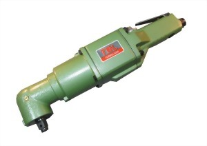 "1/2"" Industrial Angle Type Two Hammer Mechanism Air Impact Wrench"