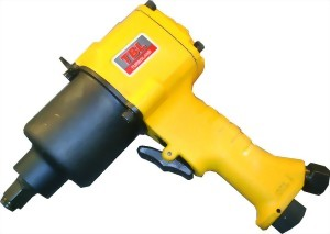"1/2"" Industrial Twin Hammer Mechanism Air Impact Wrench"