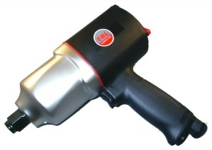 """3/4"""" Super Duty Composite Twin Hammer Mechanism Air Impact Wrench"""