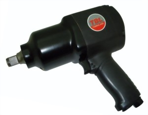 "3/4""Heavy Duty Twin Hammer Mechanism Air Impact Wrench With Handle Exhaust"
