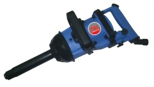 """1"""" Super Duty Twin Hammer Mechanism Air Impact Wrench With 2""""/6""""/8"""" Anvil & Inner Trigger"""
