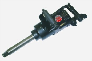 """1"""" Super Duty Twin Hammer Mechanism Air Impact Wrench With 2""""/ 8"""" Anvil"""