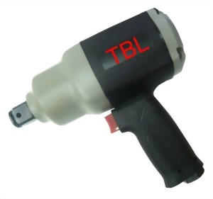 """1"""" Industrial Composite Twin Hammer Mechanism Mini Air Impact Wrench With 1""""/6"""" Anvil"""
