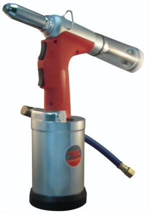 "3/16"" Heavy Duty Self-Vacuum Type Air-Hydraulic Riveter"
