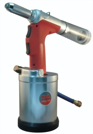 "1/4"" Heavy Duty Self-Vacuum Type Air-Hydraulic Riveter"
