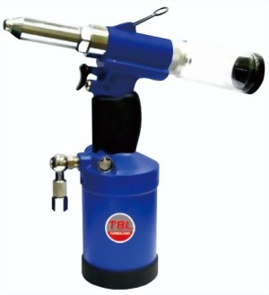 "3/16"" Composite Industrial Vacuum Type Air-Hydraulic Riveter"