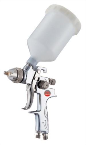 Professional Gravity Feed Air Spray Gun With 600cc Nylon Cup