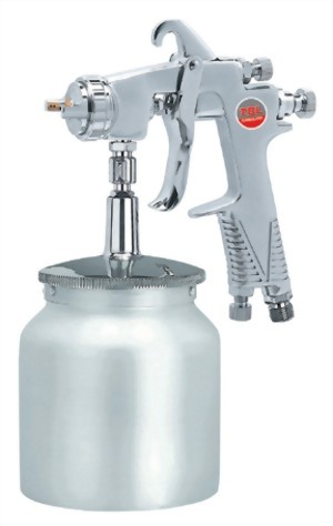 Professional Syphon  Feed Air Spray Gun With 1000 cc  Cup