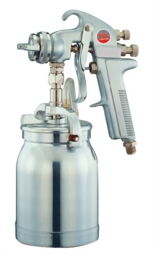 High Pressure Spray Gun With 1.0L Pot  &1.6mm Nozzle