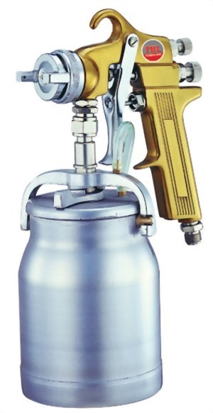 Syphon Feed Air Spray Gun With 1000cc Cup