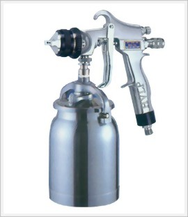 Professional High Volume Low Pressure Syphon Feed Air Spray Gun With 1;000cc Cup