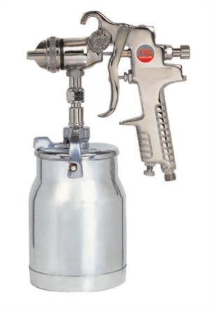 Professional Syphon Feed Air Spray Gun With 1;000cc Cup