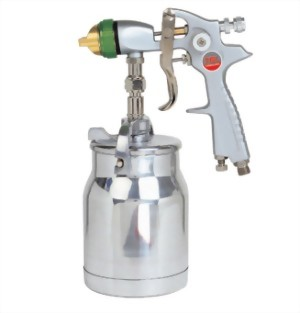Professional Kigh Volume Low Pressure Syphon Feed Air Spray Gun With 1;000cc  Cup