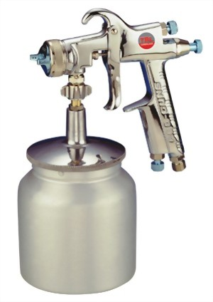 Professional Phyone Feed Air Spray Gun With 700 cc Cup