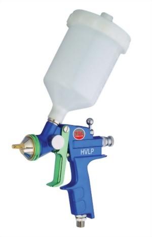 High Volume Low Pressure Gravity Feed Air Spray Gun With 400cc Nylon Cup