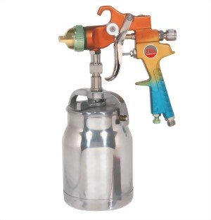 Professional Syphon Feed Forged Body High Volume Low Pressure Spray Gun With 1;000cc  Cup