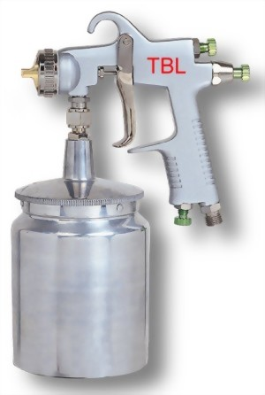 Heavy Duty Air Suction Type Spray Gun With 600CC Cup