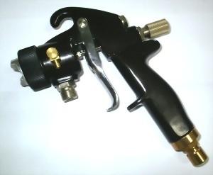 NON-BLEEDING HIGH VOLUME LOW PRESSURE TURBINE SPRAY GUN