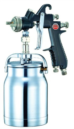 Professional Syphon Feed Air Spray Gun With 1000cc Cup