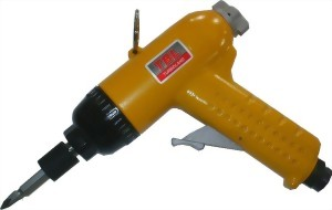 "1/4"" Heavy Duty Two Hammer Mechanism Pistol Type Air Impact Screwdriver"