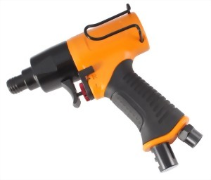 """1/4"""" Heavy Duty Two Hammer Mechanism Air Impact Screwdriver With Hook"""