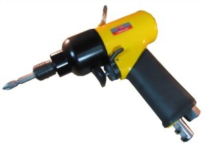 "1/4"" Industrial Two Pinless Hammer Mechanism Air Impact Screwdriver"
