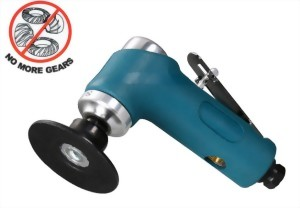 """3"""" Heavy Duty Gearless Mechanism Air Angle Sander With Rubber Pad"""