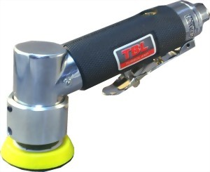 """110 Degree Air Angle Orbital Sander With 3"""" Rubber Pad"""