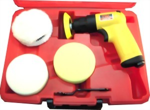 0.45Hp 7Pcs Industrial Composite Air Polisher Kit
