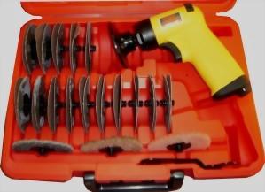 0.45Hp 37Pcs Industrial Composite Air Sander Kit