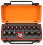 "3/8"" 16 Pcs Deep Impact Socket kit (Chrome-Molybdenum Steel)"