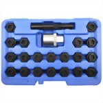 22 PCS WHEEL LOCKING KEY SET FOR BMW