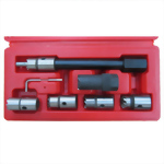 7 PCS DIESEL INJECTOR SEAT CUTTER SET