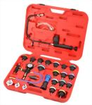 High Quality 27 Pcs Cooling System Leakage Tester and Vacuum Type Coolant Refilling Kits