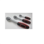 "Ratchet Handle with Quick Release 1/4"",3/8"",1/4"" *72T (Chrome Molybdenum Steel Driver Satin finish)"