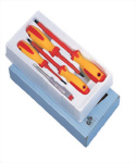 5Pcs Insulated Screwdriver Set (CR-MO Steel)