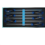 6 Pcs Extra Long Trox Screwdriver set with EVA