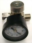 "1/4"" Air Regulator With Gauge"