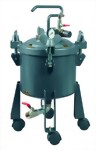 2 1/2 Gallon Dome Type Pressure Feed PaintT Tank