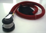 "Industrial Self Vacuum 5mm LP Random Orbital Sander With 3.5"" Pad"